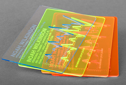 Acrylic Glass Business Card