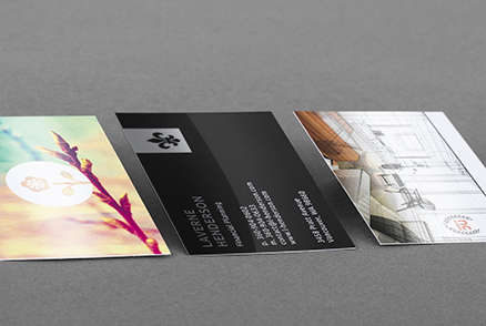 Plastic-Laminated Business Cards