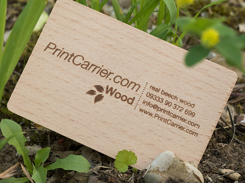 Product details Wooden Business Cards 2