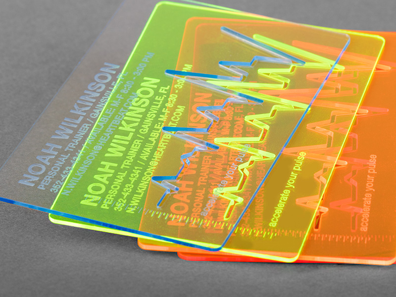 Product details Acrylic Glas Business Cards 1