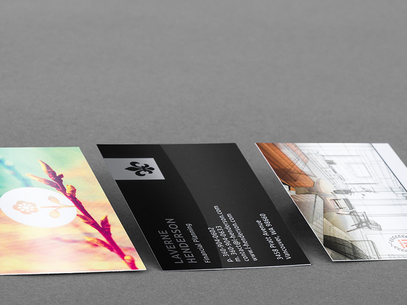 Product details Laminated Business Cards 1