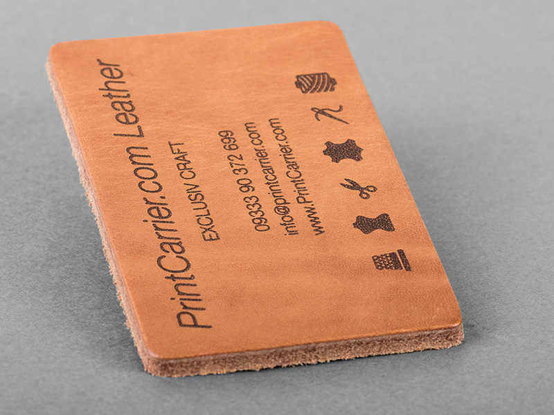 Product details Leather Business Cards 1