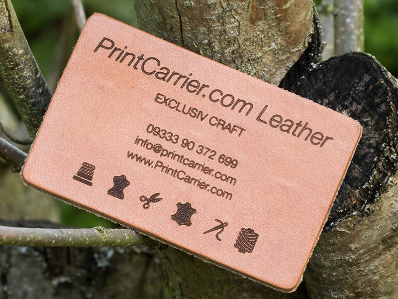 Product details Leather Business Cards 2