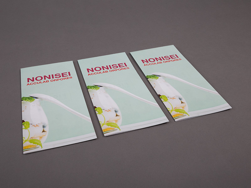 Product details Folded Leaflets - Cross-Fold with Roll-Folds 1