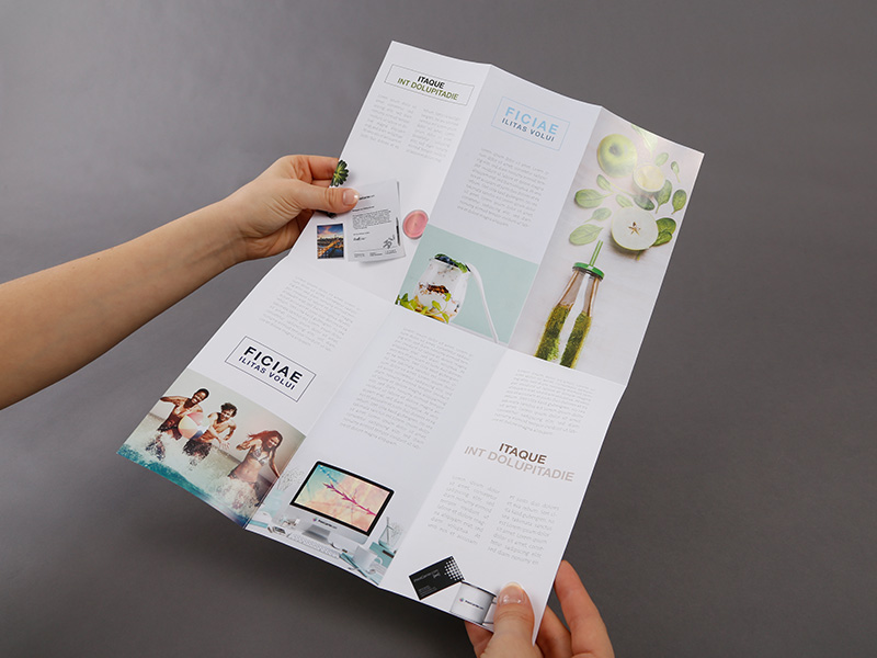 Product details Folded Leaflets - Cross-Fold with Roll-Folds 3