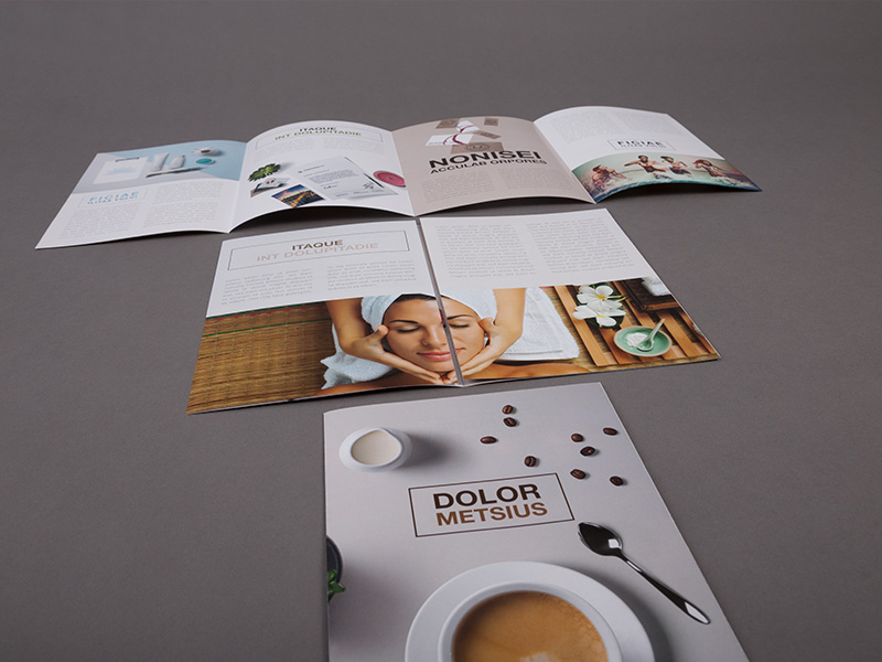 Product details Folded Leaflets - Double Gate Fold 1
