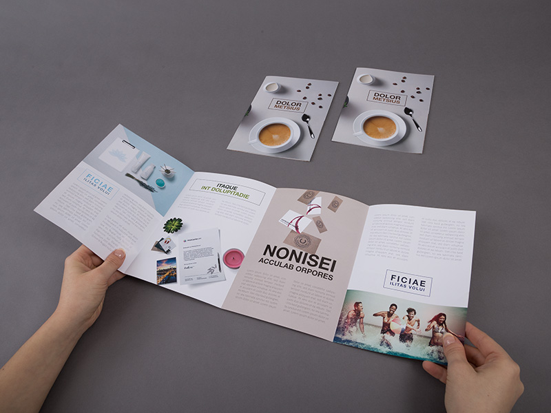 Product details Folded Leaflets - Double Gate Fold 2