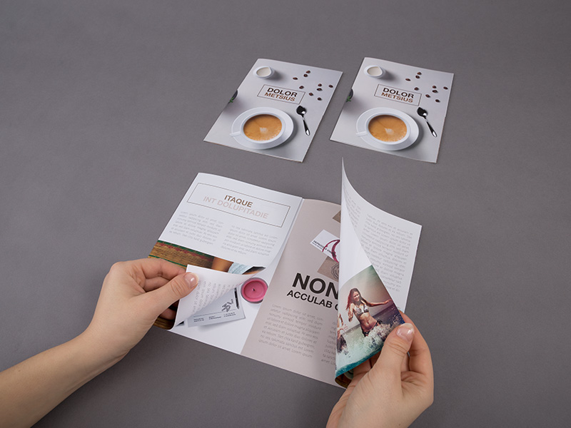 Product details Folded Leaflets - Double Gate Fold 3