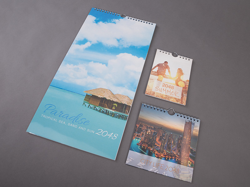 Product details Wire-O Bound Photo Calendars 1
