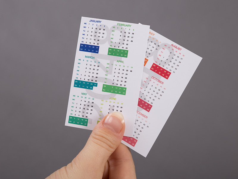 Product details Pocket Calendars 1