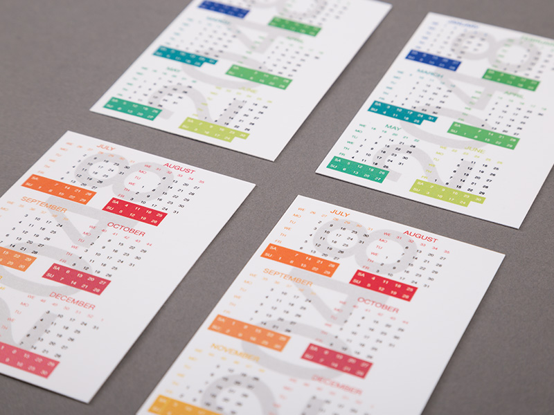 Product details Pocket Calendars 2