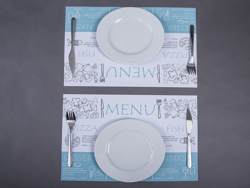 Productinformatie Placemats 1