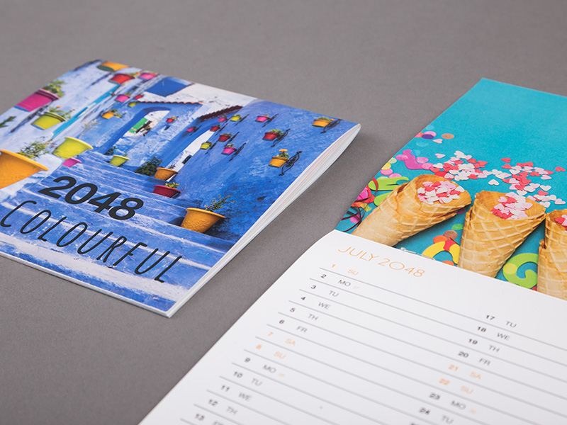 Product details Stapled calendars 3