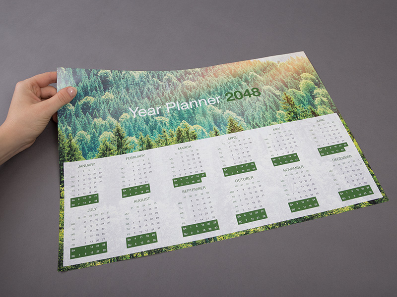 Product details Single-sided wall calendars 1