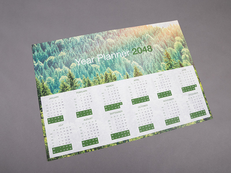 Product details Single-Sided Wall Calendars 2