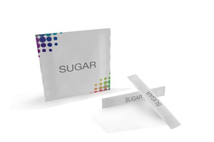 Personalised sugar packages
