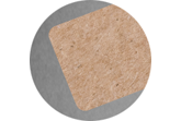 300gsm Recycling 85x55 mm – Rounded corners (7mm radius)