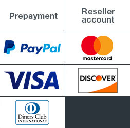 Payment methods by PrintCarrier.com